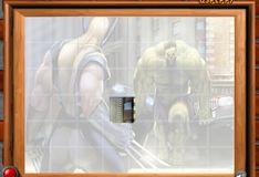 Игра Игра Росомаха против Халка: Отсортируйте мои плитки