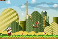 Игра Игра Марио стрелок огнем