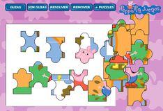 Игра Игра Пазл Свинка Пеппа и грязное белье