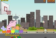 Игра Свинка Пеппа: Большой баскетбол