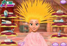 Игра Игра Фантастическая прическа принцессы Рапунцель