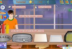 Игра Игра Хот-доги от Макмукса