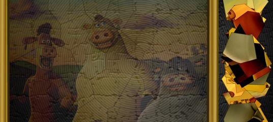 Игра Рога и копыта: Мания пазлов