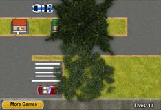 Игра Припаркуй полицейскую машину