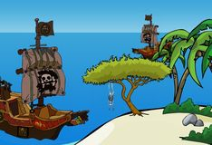 Игра Игра Побег с сокровищами с острова пиратов