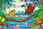 Играть бесплатно в Король Лев скрытые буквы