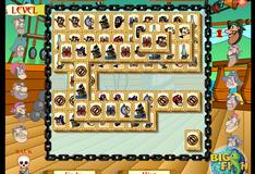 Игра Пиратский маджонг