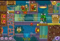 Игра Игра Улитка Боб 8 Остров сокровищ