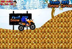 Игра Игра Соник АТВ: Гонки по снегу