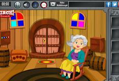 Игра Побег из запертой комнаты деревянного домика