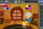 играйте в Побег из запертой комнаты деревянного домика