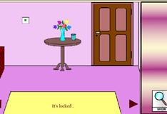 Игра Закрытая дверь в комнате
