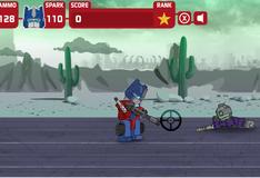 Игра Оптимус Прайм против зомби