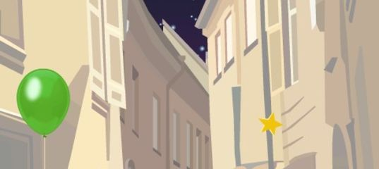 Игра Ночное звездное небо