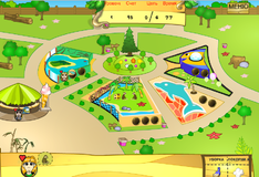 Игра Посетители зоопарка