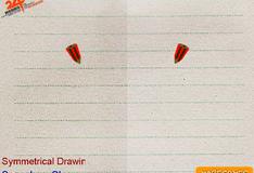Игра Симметричное рисование