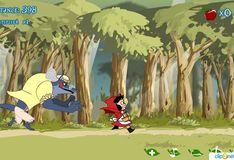 Игра Игра Бегалки Красная шапочка