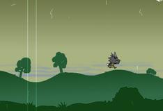 Игра Черный волк охотится на овец