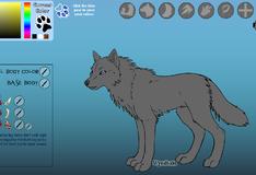 Игра Создай уникального волка