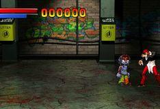 Игра Король бойцов против Зомби