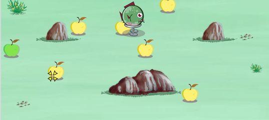 Игра Червь герой, пираньи атакуют