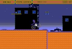 Игра Бэтмен на велосипеде