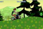 Игра Бен на велосипеде