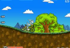 Игра Багз Банни на велосипеде