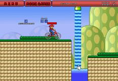 Игра Марио на велосипеде