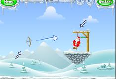 Игра Санта Клаус на виселице