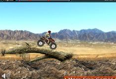 Игра Гонка на мотоцикле в Дюне