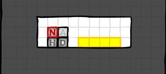Игра Блоки с буквами