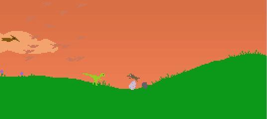 Игра Бег динозавра: марафон со смертью