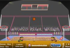 Игра Игра Баскетбол головами