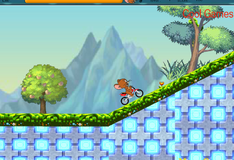 Джерри на мотоцикле