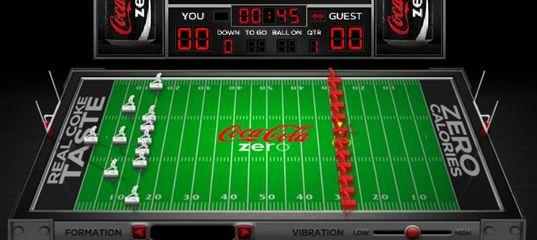 Игра Электронный ретро-футбол