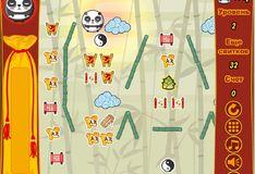 Игра Игра Стиль падающей панды