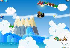 Игра Игра Спасательный самолет Марио
