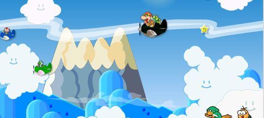 Игра Спасательный самолет Марио