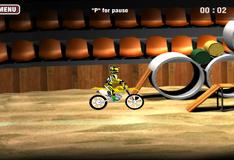 Игра Поездка на мотоцикле на спор