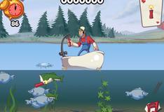 Игра Рыбалка с динамитом