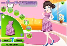 Игра Очаровательная беременная девушка