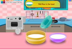 Игра Готовим клубничный пирог