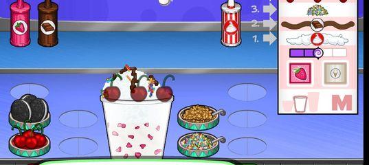 Игра Кафе Мороженое