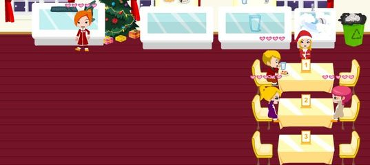 Игра Кафе Новогоднее