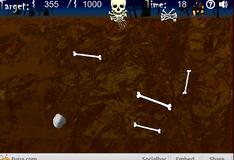 Игра Скелет собирает кости