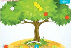 Игра Достань фрукты с дерева