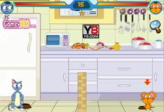 Игра на двоих: Кот против мыши