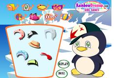 Игра Наряд для пингвиненка