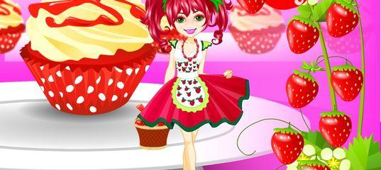 Игра Девушка клубника одевается